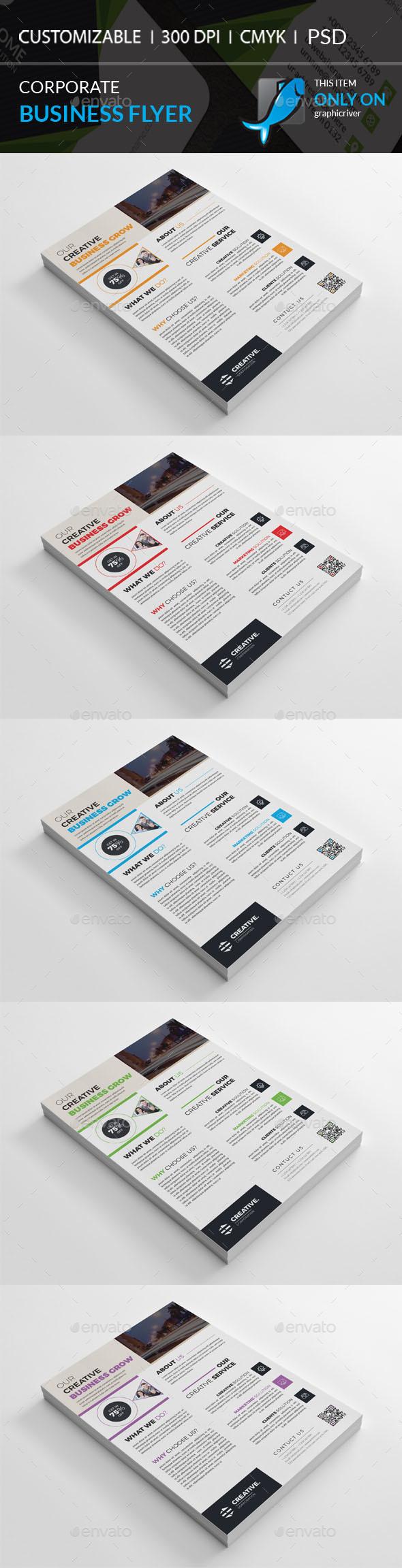 GraphicRiver Corporate Flyer 20815396