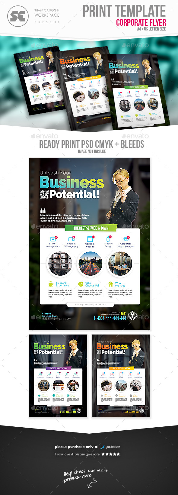 GraphicRiver Business Flyer 20815660