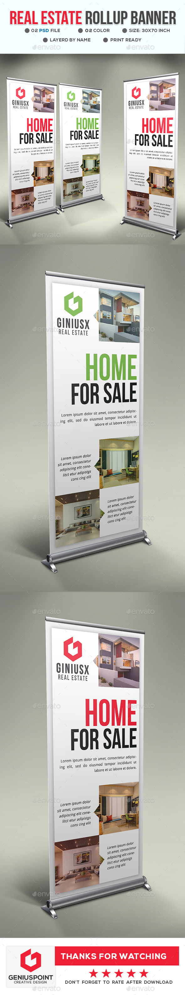 GraphicRiver Real Estate Roll-Up Banner 20815696