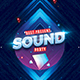 Sound Party Flyer - GraphicRiver Item for Sale