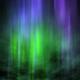Dark Night Sky Aurora Background 4k