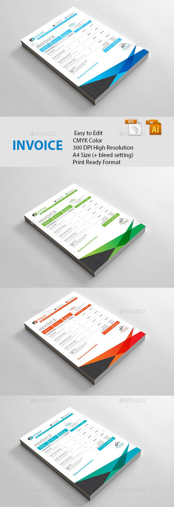 GraphicRiver Invoice 20816086