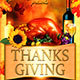 Thanksgiving Day Party Flyer - GraphicRiver Item for Sale