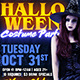 Halloween Costume Party Flyer Template - GraphicRiver Item for Sale