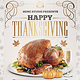 Happy Thanksgiving Bash Flyer Template