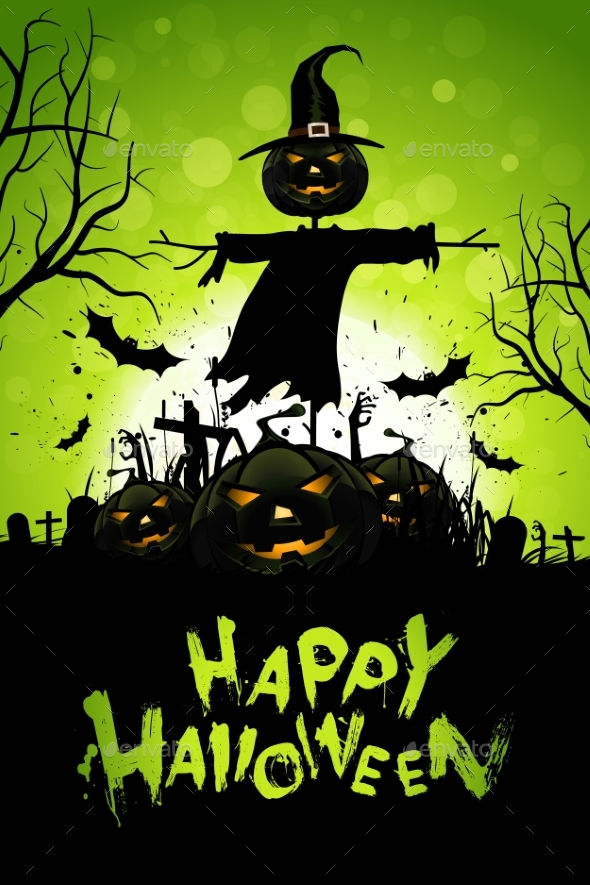Halloween Greeting Card - Halloween Seasons/Holidays