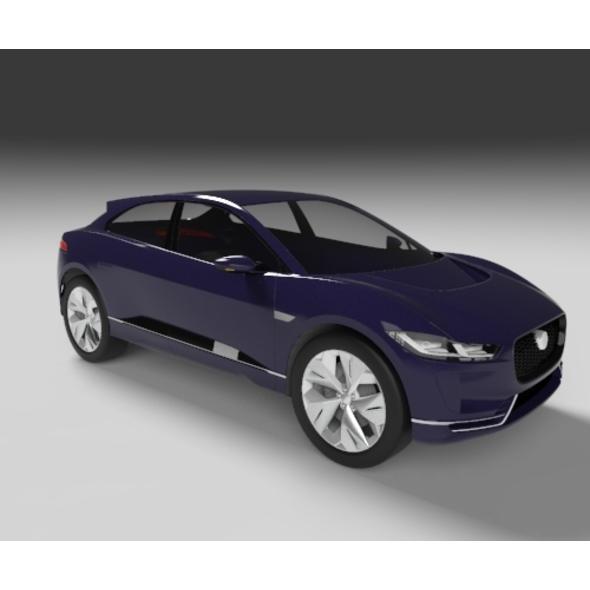 2018 Jaguar I-Pace - 3DOcean Item for Sale
