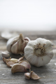 Garlic Cloves Vertical