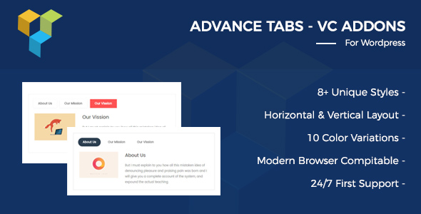 CodeCanyon Advance Tabs For Visual Composer 20816874