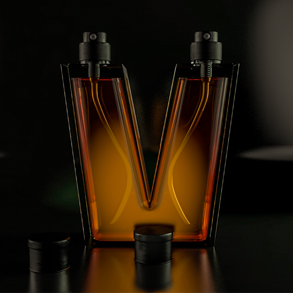 3DOcean Perfume 3D model 3D model 20816925