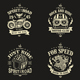 Motorcycle Club Badges Design Vol.1 - GraphicRiver Item for Sale