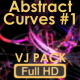 Animation VJ Pack Of Abstract Curves