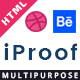 iProof - Multipurpose HTML Template - ThemeForest Item for Sale