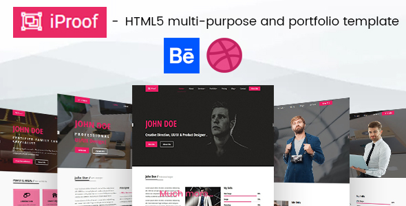 iProof - Multipurpose HTML Template