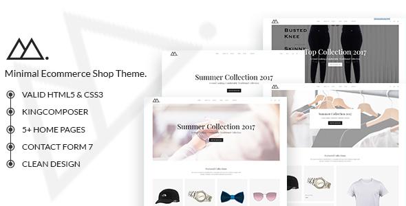 gonjjo - minimal woocommerce theme (woocommerce) Gonjjo – Minimal WooCommerce Theme (WooCommerce) preview