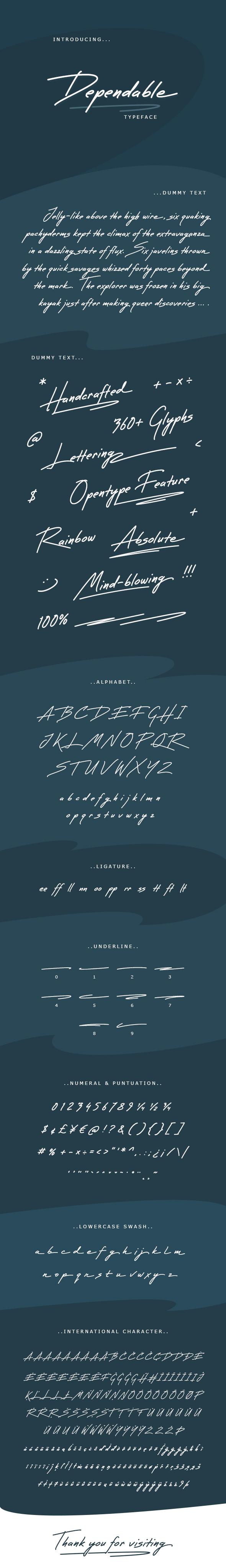 GraphicRiver Dependable Font 20817525