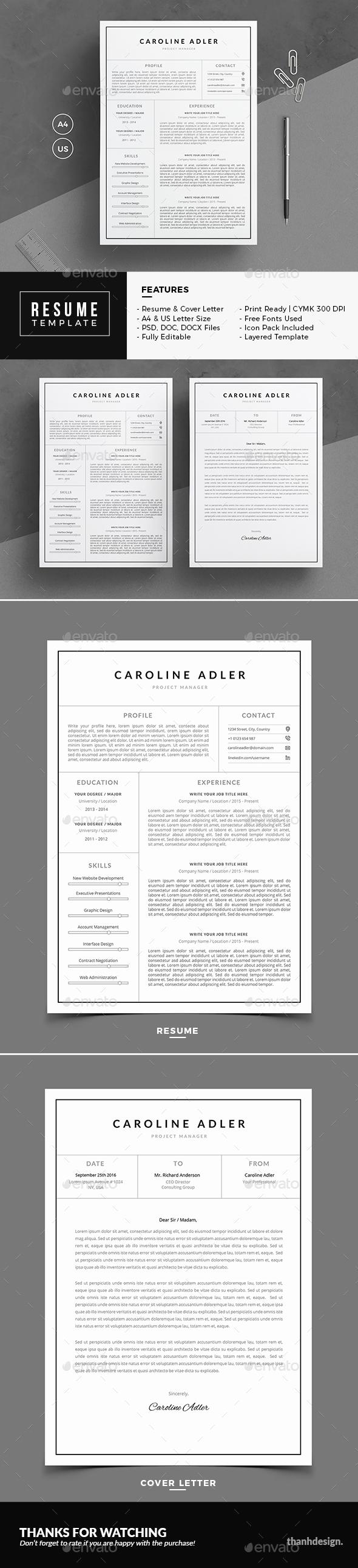 GraphicRiver Resume 20817715