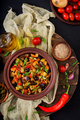 Hot spicy stew (caponata) eggplant, zucchini, sweet pepper, tomato - PhotoDune Item for Sale