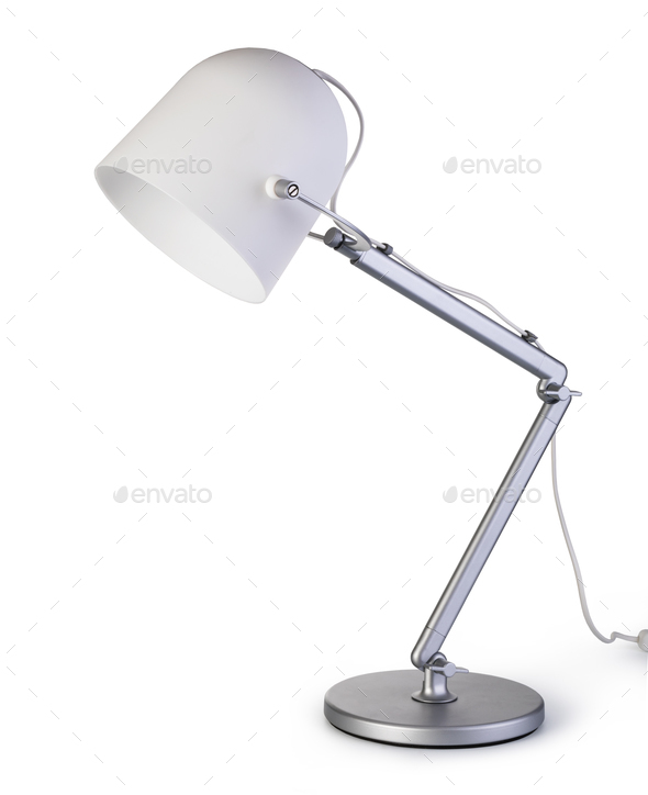 desk lamp - Stock Photo - Images