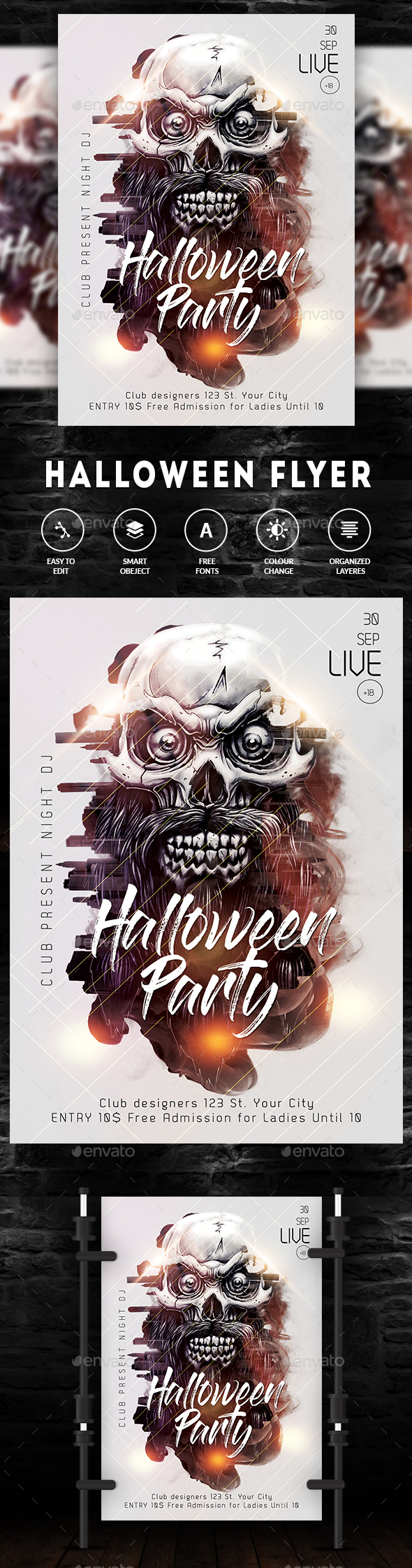 GraphicRiver Halloween 20818036