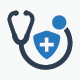 Health Insurance Icons - Blue Version