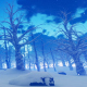 Snowy Winter Landcape - VideoHive Item for Sale