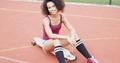 Confident sportive girl on skateboard - PhotoDune Item for Sale