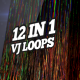 Pixel Sorting VJ Loops Pack - VideoHive Item for Sale