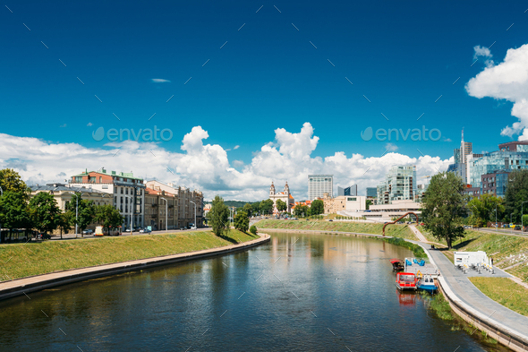 Vilnius, Lithuania. Church Of St Raphael The Archangel And Forme - Stock Photo - Images