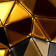 Gold-Black Polygons - VideoHive Item for Sale
