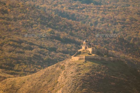 Gori, Shida Kartli Region, Georgia. St. George's Church In Autum - Stock Photo - Images