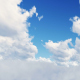 Flying Between Clouds - VideoHive Item for Sale