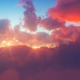 Sunset In The Clouds - VideoHive Item for Sale