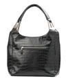 Img 6328Black female bag isolated over white