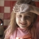 Little Girl on Kitchen. - VideoHive Item for Sale