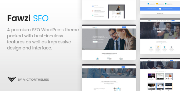 Fawzi - WordPress Theme for Marketing