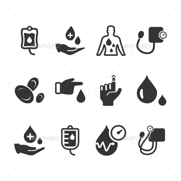 Hematology Icons - Web Icons
