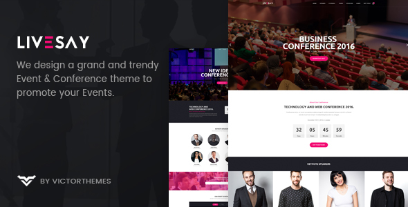 Image of Livesay - Event & Conference WordPress Theme