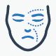 Plastic Surgery Icons - Blue Version