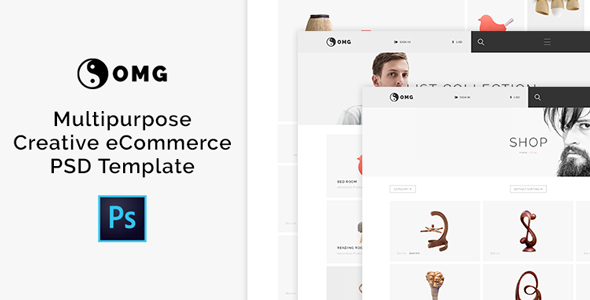 OMG - Multipurpose Creative eCommerce PSD Template