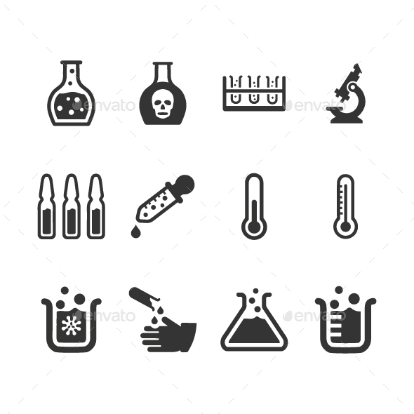 GraphicRiver Laboratory Icons 20819903
