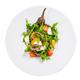Baked eggplant salad with fresh vegetables. - PhotoDune Item for Sale