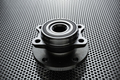 Composition of the car wheel bearing on metal surface - PhotoDune Item for Sale