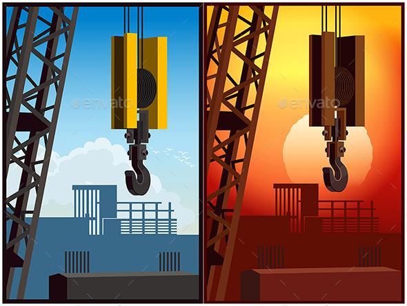 GraphicRiver Construction Crane 20820429