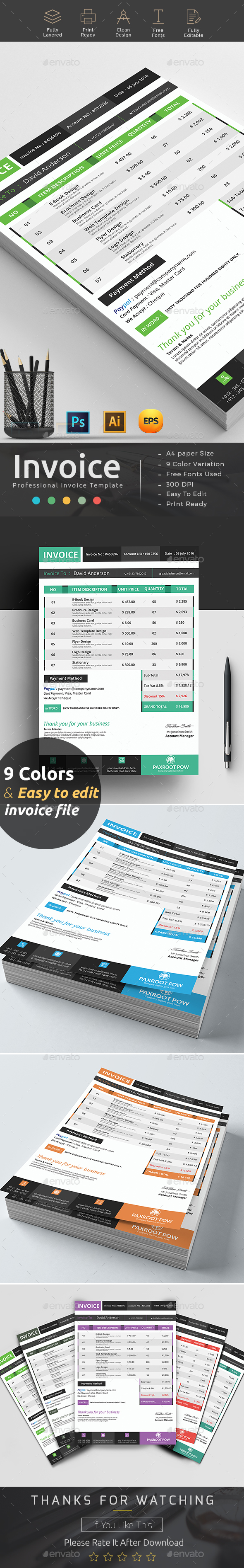 Factura Graphics, Designs & Templates from GraphicRiver