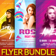 Dj Party Flyer Bundle Vol.1 - GraphicRiver Item for Sale