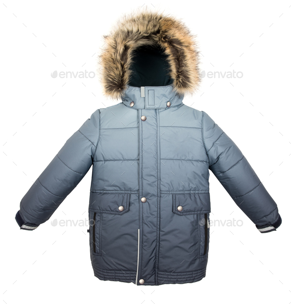 Warm jacket isolated - Stock Photo - Images