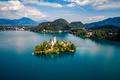 Slovenia - resort Lake Bled.