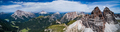Panorama National Nature Park Tre Cime In the Dolomites Alps. Be