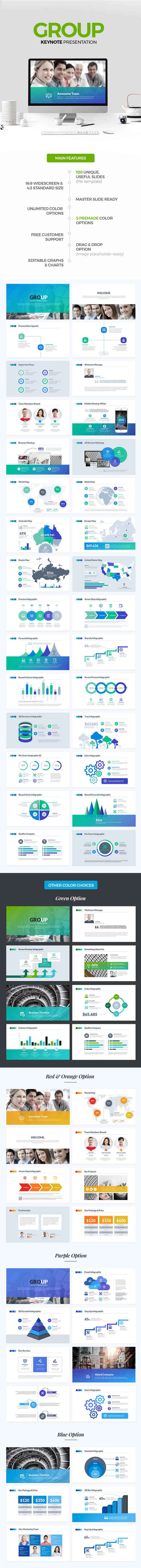 Group Keynote Template - Keynote Templates Presentation Templates